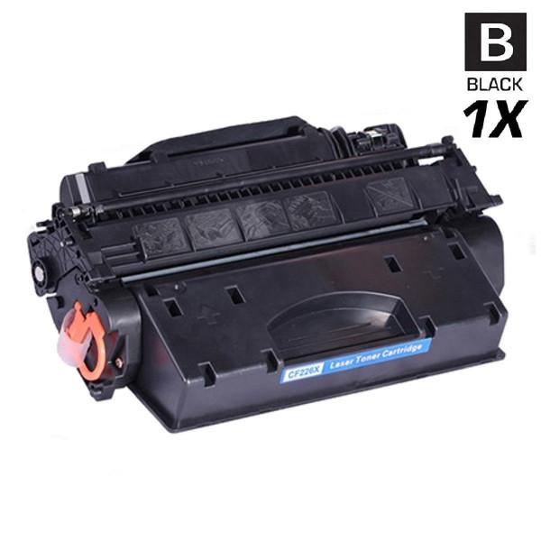 Hochleistungs-Toner +30% mehr Druckleistung ersetzt HP CF226X / 26X