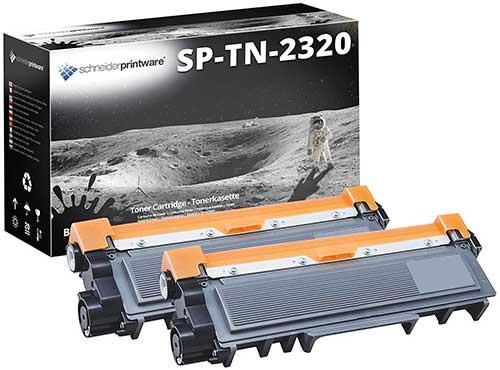 Kompatibel Toner 150% mehr Leistung für Brother TN-2320 2er-Pack