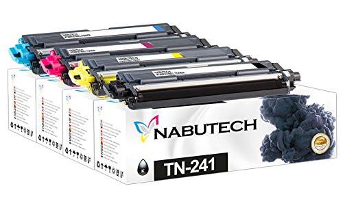 4 Nabutech Toner ersetzen Brother TN-241BK,TN-245M,TN-245Y,TN-245C