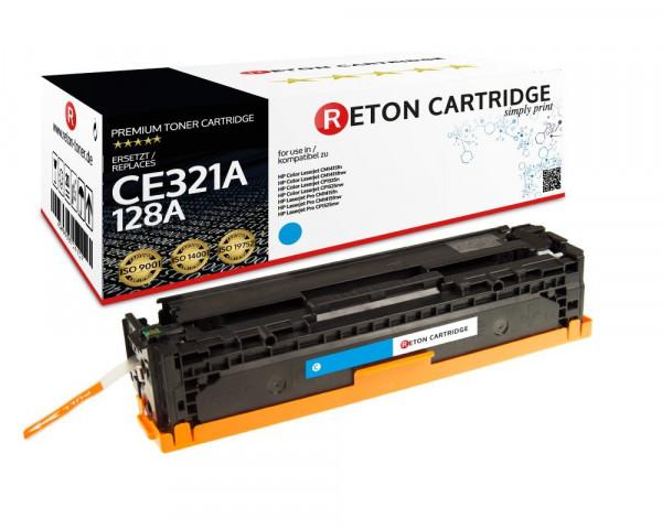 Reton Toner ersetzt hp 128A / CE321A cyan