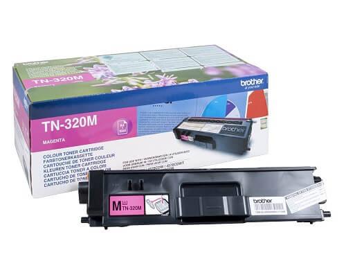 Brother Original-Toner TN-320M (1.500 Seiten) magenta