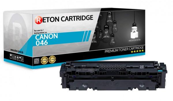 Original Reton Toner ersetzt Canon 046HC Cyan