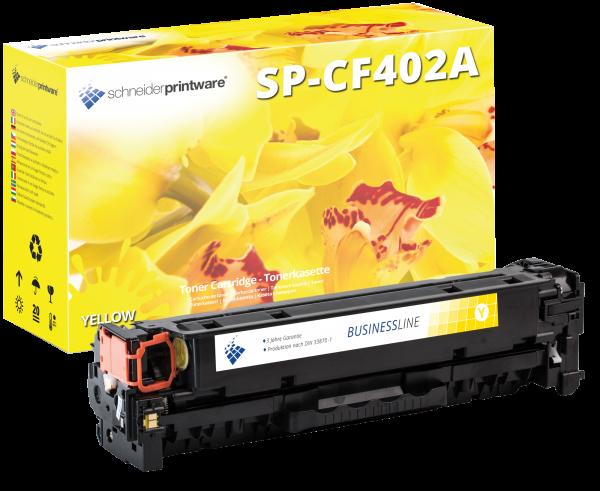 Schneider Printware Toner ersetzt HP CF402A gelb 201A