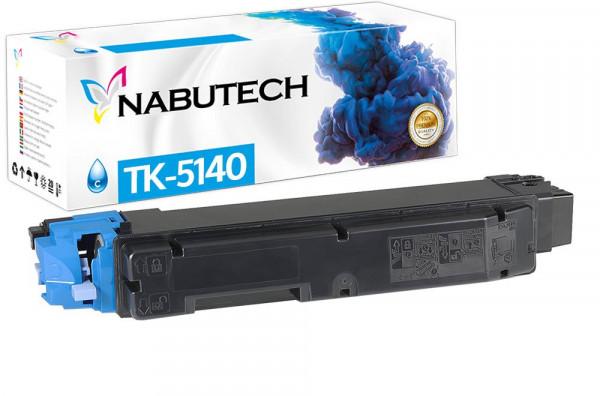 Nabutech Toner +25% mehr Leistung ersetzt Kyocera TK-5140C cyan
