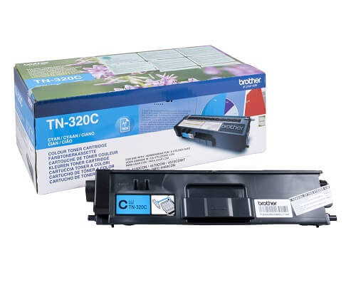 Brother Original-Toner TN-320C (1.500 Seiten) cyan