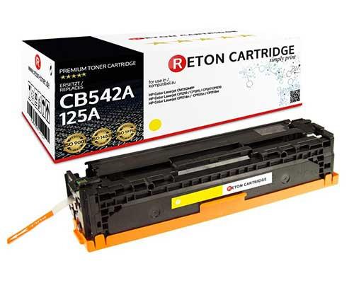Reton Toner kompatibel zu hp 125A / CB542A gelb