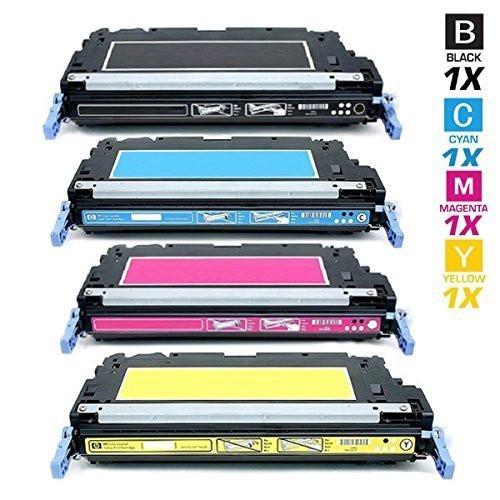 4 Hochleistungs- Toner +40% mehr Druckleistung ersetzt HP 503A / CP3505