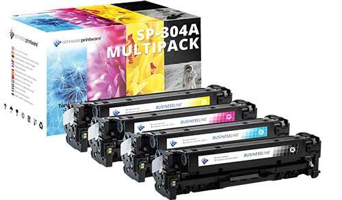 Kompatibel Toner 35% mehr Leistung für HP 304A 304 Toner Multipack