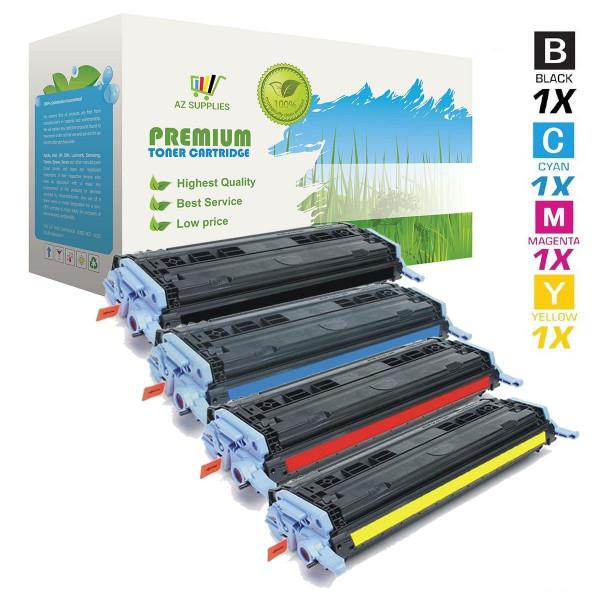 AZ Supplies 4-Pack Toner | 30% mehr Reichweite | ersetz HP 124A