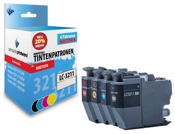 Schneiderprintware LC3211 4er Pack