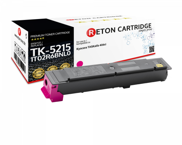 Original Reton Toner für Kyocera TK-5215M
