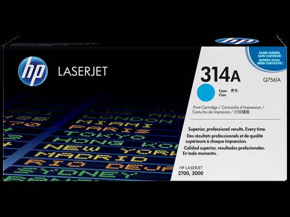 HP 314A Cyan Originaltoner Q7561A