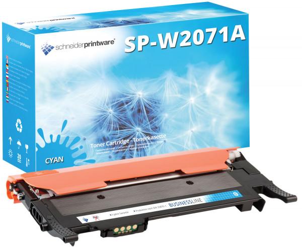 schneider Printware Toner 50% mehr Leistung ersetzt HP W2071A cyan