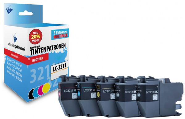 Schneiderprintware LC3211 5er Pack