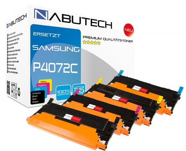 4 Toner 100% höhere Reichweite ersetzen Samsung CLT-P4072C