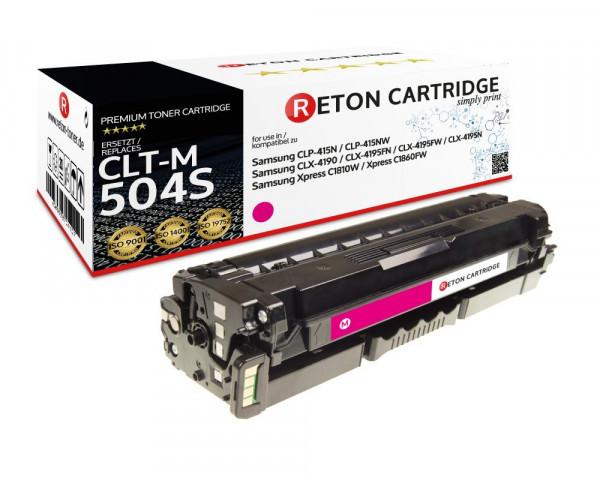 Reton Toner ersetzt Samsung CLT-M504S magenta