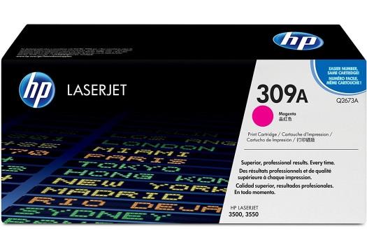 HP 309A magenta Originaltoner (Q2673A)