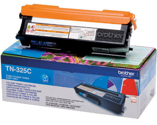 Brother Original-Toner TN-325C (3.500 Seiten) cyan