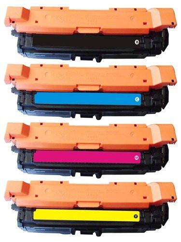 4 Original Reton Toner ersetzen HP CE264X CF031A,CF032A,CF033A