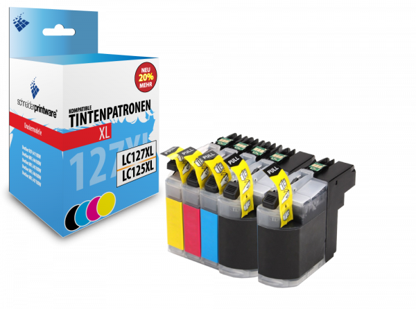 Schneiderprintware LC127XL / LC125XL 5er Pack