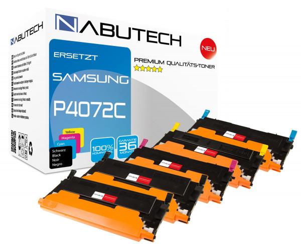 5 Nabutech Toner 100% höhere Leistung ersetzen Samsung CLT-P4072C