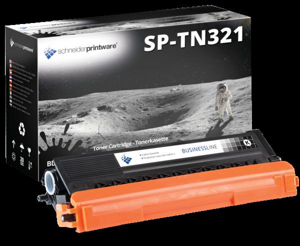 Schneider Printware Toner ersetzt Brother TN-321BK schwarz