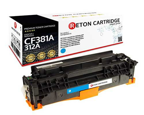 Original Reton Toner kompatibel zu hp 312A / CF381A cyan
