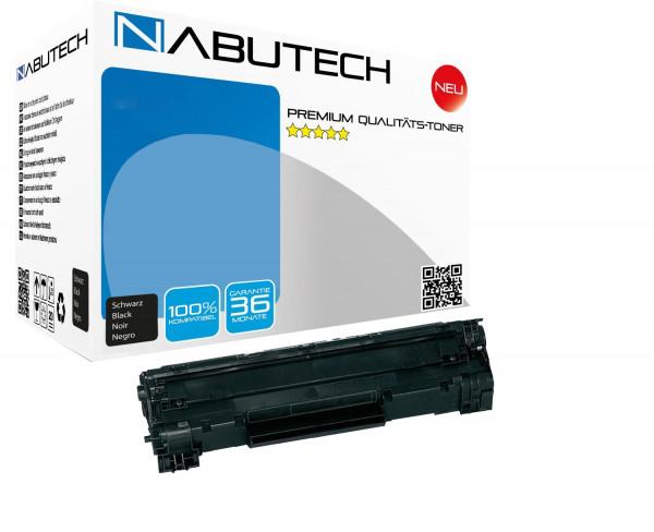NABUTECH Toner ( nach ISO-Norm 19752 getestet ) ersetzt Canon 737 / 9435B002