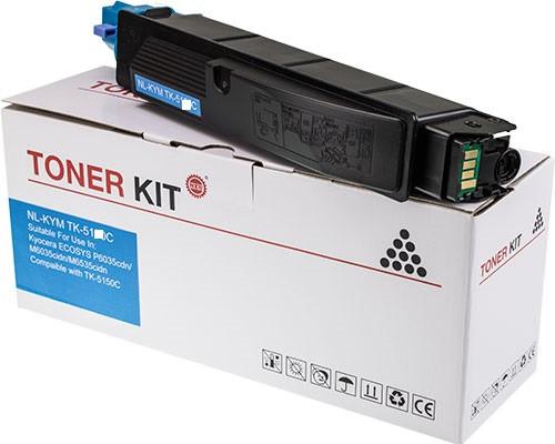 Schneider Printware Toner +25% höhere Leistung ersetzt Kyocera TK-5150C