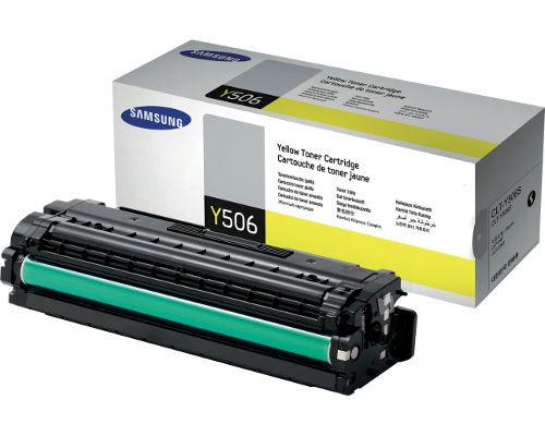 Samsung Original-Toner CLT-Y506L/ELS (3.500 Seiten) gelb