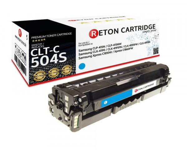 Reton Toner ersetzt Samsung CLT-C504S cyan