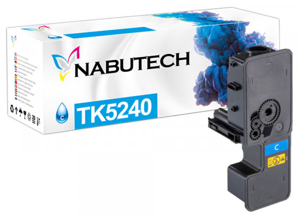 Nabutech Toner ersetzt Kyocera TK-5240C