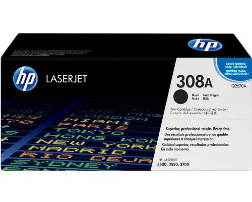 HP 308A Schwarz Originaltoner (Q2670A)