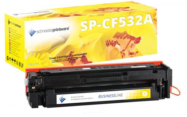 Schneiderprintware Toner kompatibel zu HP 203A / CF542A gelb