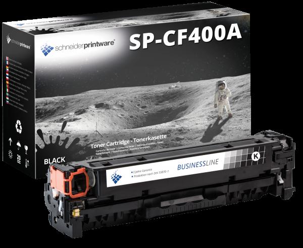 Schneider Printware Toner ersetzt HP CF400A schwarz 201A