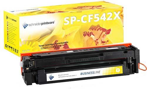 Schneiderprintware Toner kompatibel zu HP 203X / CF542x gelb