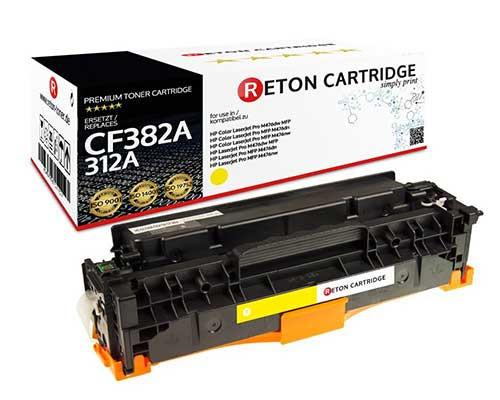 Original Reton Toner kompatibel zu hp 312A / CF382A gelb