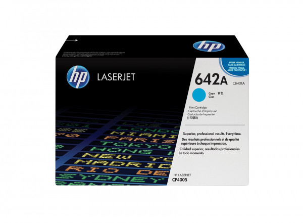 HP 642A ORIGINAL-TONER (CB401A) CYAN