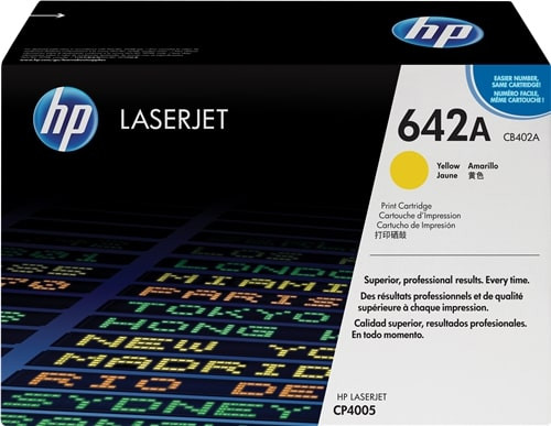 HP 642A ORIGINAL-TONER (CB402A) YELLOW