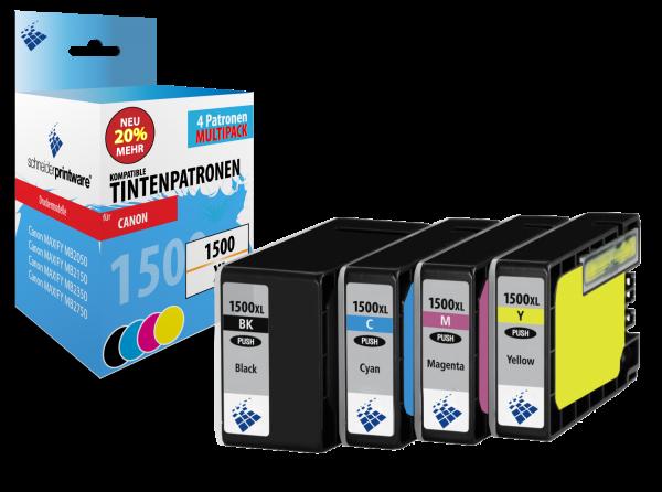 Schneiderprintware PGI-1500XL 4er Pack