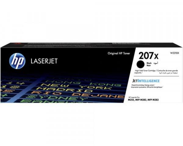 HP 207X/ W2210X Originaltoner schwarz