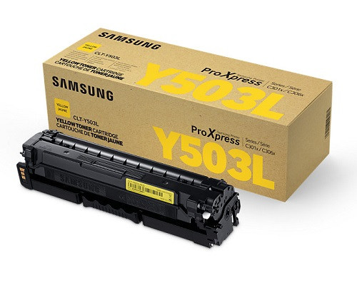 Samsung Original-Toner CLT-Y503L (5.000 Seiten) gelb