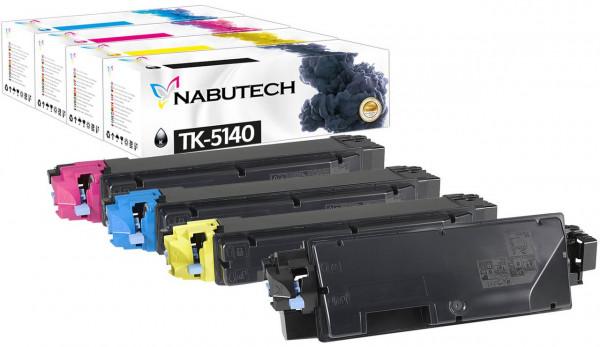 Kompatibel Toner 25% mehr Leistung für Kyocera TK-5140 TK5140 Multipack