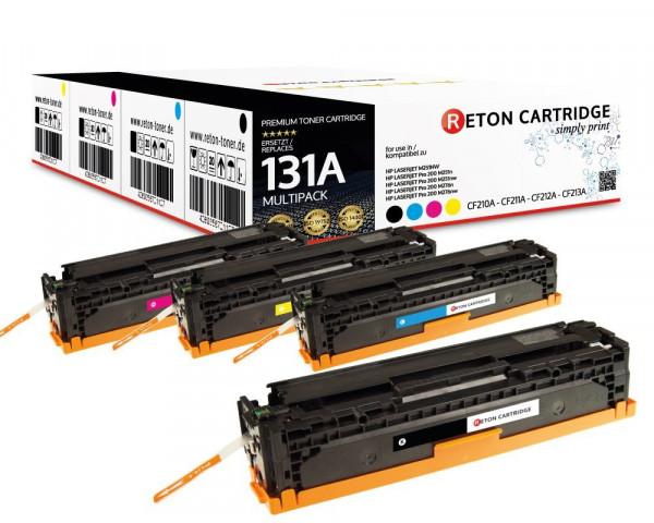 4 Reton Toner kompatibel zu HP 131A / CF210A CF211A CF212A CF213A