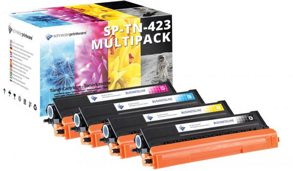 Kompatibel Toner 30% mehr Leistung für Brother DCP-L8410CDW Set