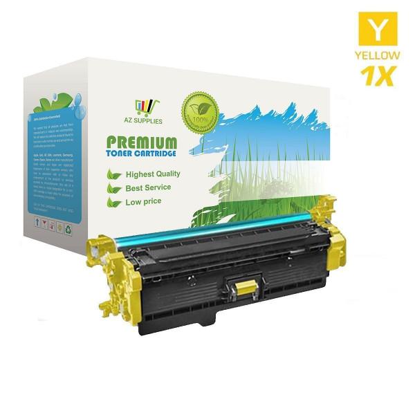 AZ Supplies Toner | 25% mehr Reichweite | ersetz HP CF362X Yellow