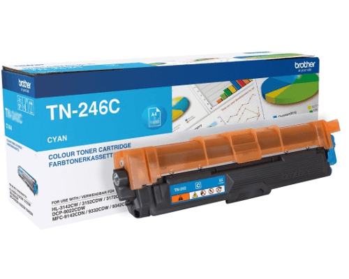 Brother Original-Jumbo-Toner TN-246C