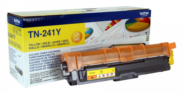 Original Brother TN-241 Toner Yellow