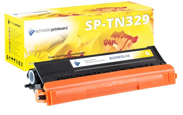 Schneider Printware Toner |30% höhere Leistung| ersetzt Brother TN-329Y Gelb