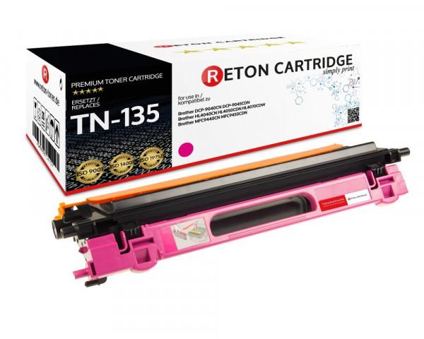 Original Reton Toner ersetzt Brother TN-135M magenta